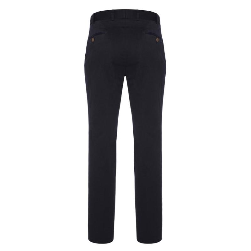 Hiltl - Hiltl Supima Cotton Lacivert Pantolon (1)