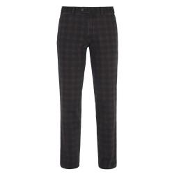 Hiltl - Hiltl Urban Retro Prince De Galle Füme Wool Look Cotton Pantolon