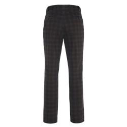 Hiltl - Hiltl Urban Retro Prince De Galle Füme Wool Look Cotton Pantolon (1)