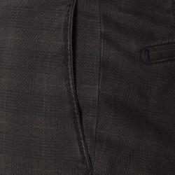 Hiltl Urban Retro Prince De Galle Füme Wool Look Cotton Pantolon - Thumbnail