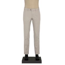 Hiltl - Hiltl YANDAN CEPLI DOKULU GRI Pantolon