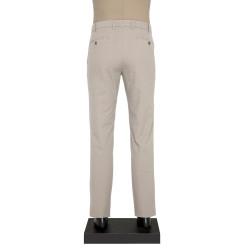 Hiltl - Hiltl YANDAN CEPLI DOKULU GRI Pantolon (1)