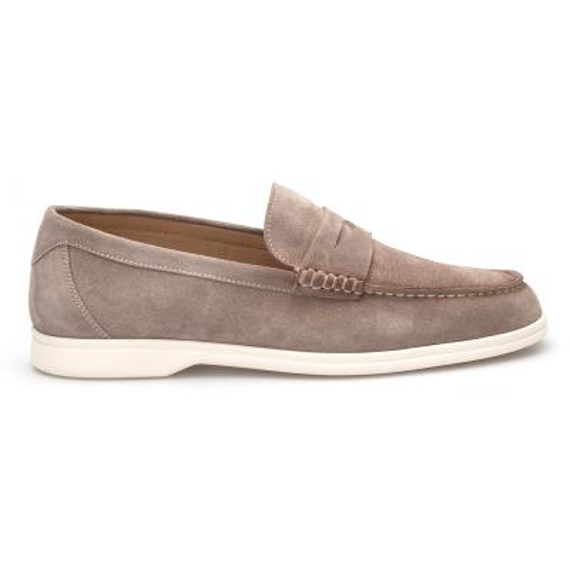 JW - JEROLD WILTON Bej Süet Loafer Ayakkabı (1)