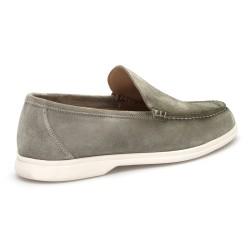 JEROLD WILTON Yeşil Süet Loafer Ayakkabı - Thumbnail