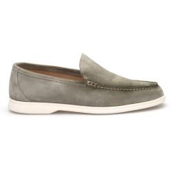 JW - JEROLD WILTON Yeşil Süet Loafer Ayakkabı (1)
