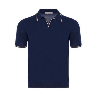 La Fileria Gömlek Polo Yaka LacivertÖrme T-Shirt