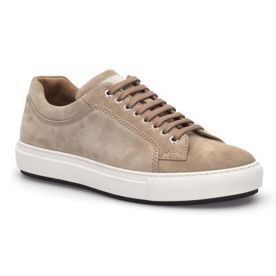 LO.White - LO.White Bej Süet Ayakkabı