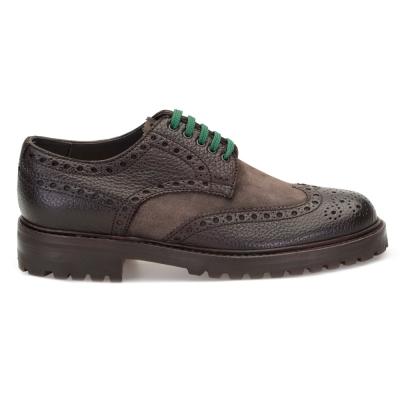 LO.White - LO.White Kahverengi Deri Süet Ayakkabı Ayakkabı (1)
