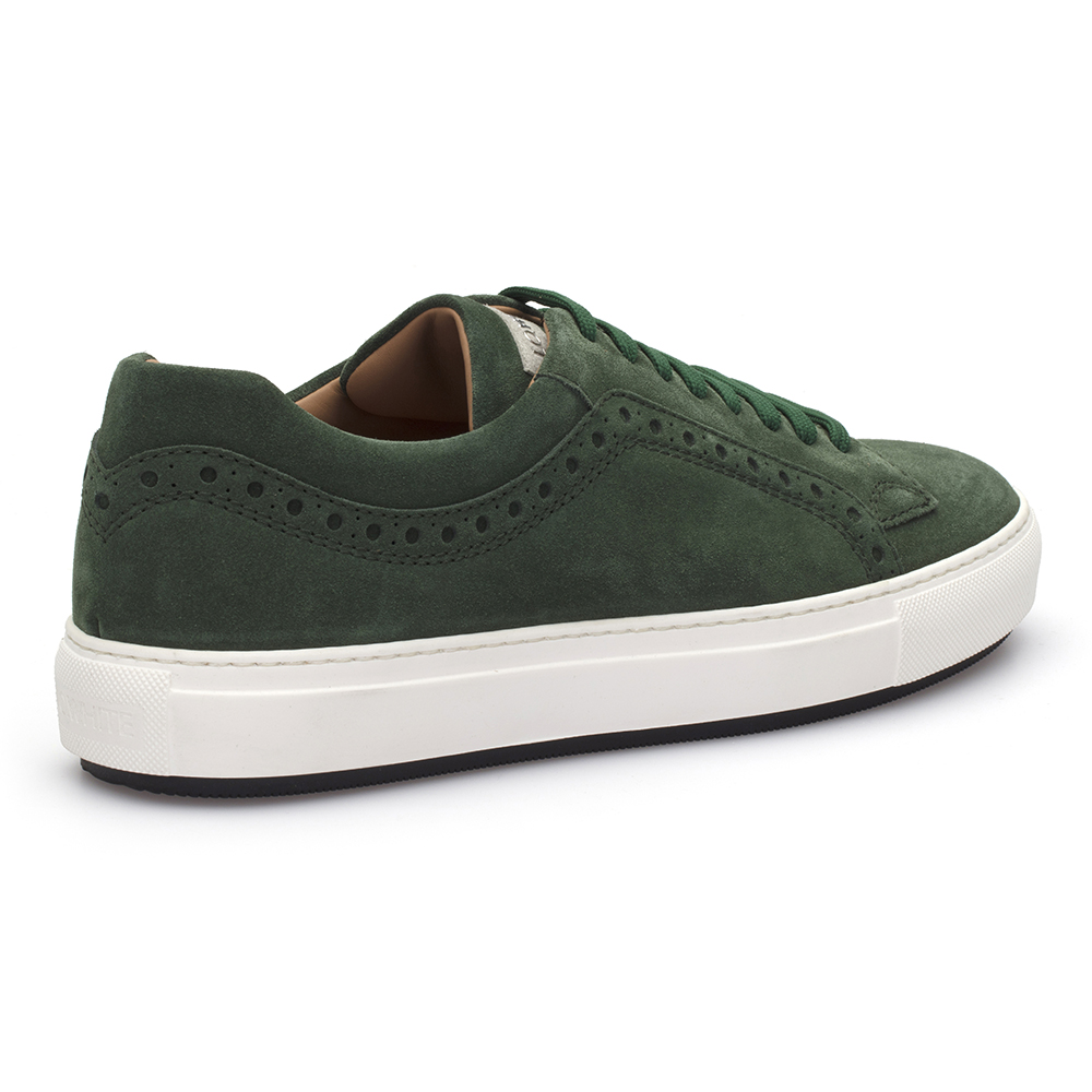 LO.White Yeşil Süet Ayakkabı