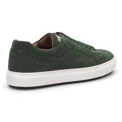 LO.White Yeşil Süet Ayakkabı - Thumbnail