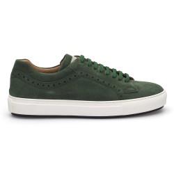 LO.White - LO.White Yeşil Süet Ayakkabı (1)