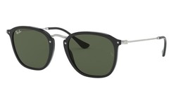 Ray-Ban - Ray-Ban Black - Silver Classic G15 Sunglasses