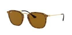 Ray-Ban - Ray-Ban Light Havana - Gold Classic B 15 Sunglasses
