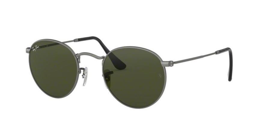 Ray-Ban Round Matte Sunglasses