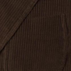 Sartoria Latorre - Sartoria Latorre Kahverengi Kadife Astarsız Spor Doğayla Barışık Ceket (1)