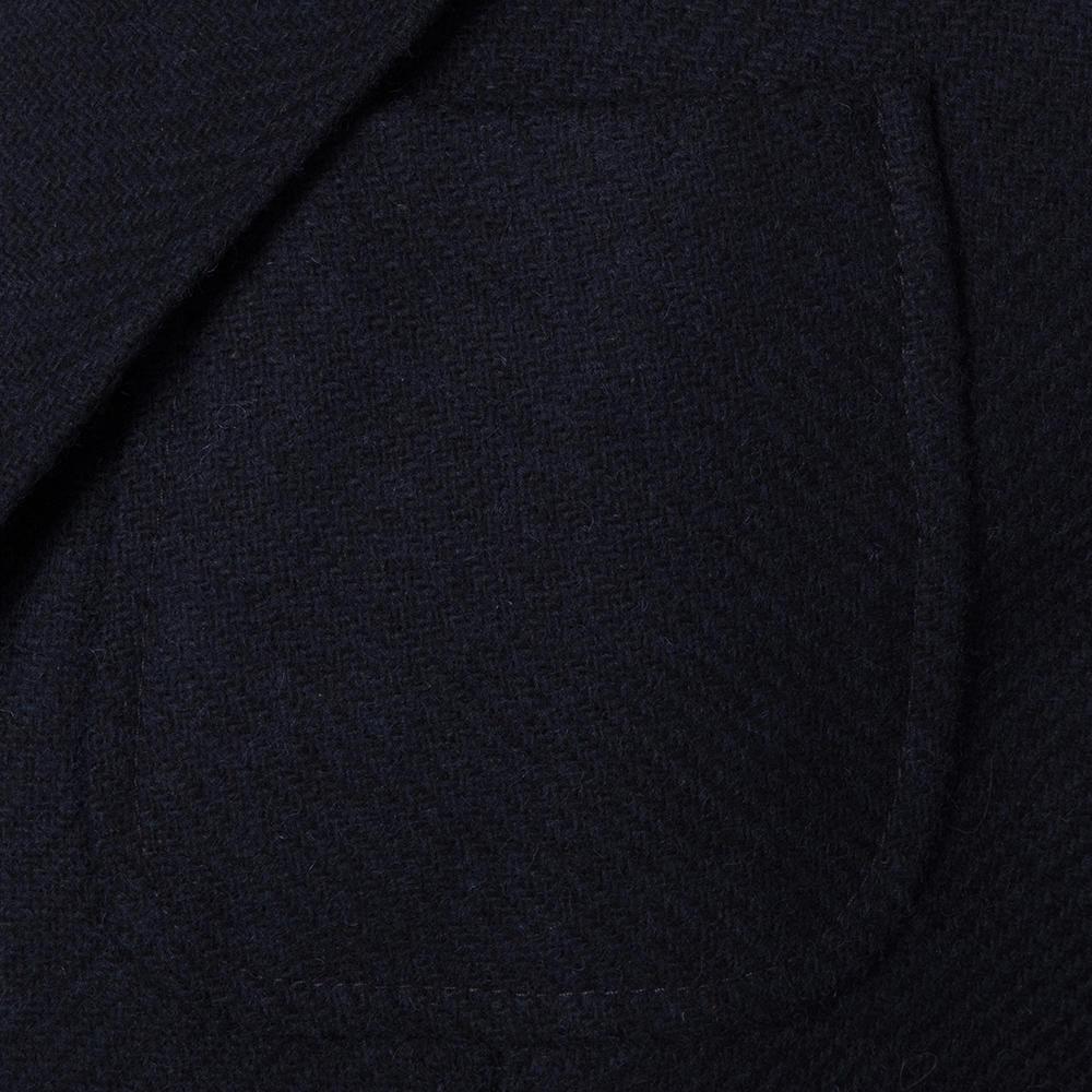 Sartoria Latorre Lacivert Tweed Astarsız Spor Doğayla Barışık Ceket