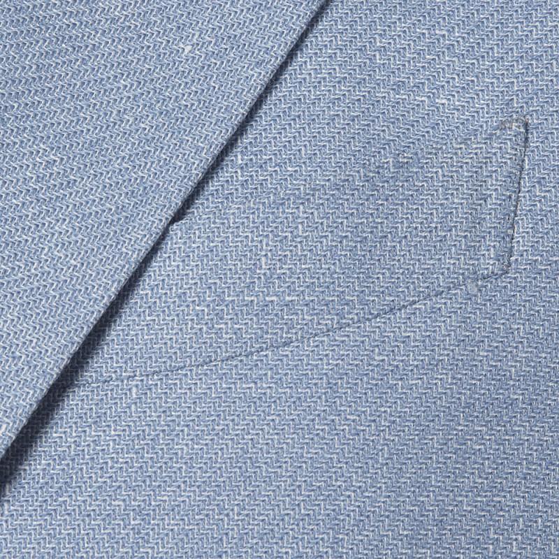 Sartoria Latorre - Sartoria Latorre Mavi Astarsız Ceket (1)