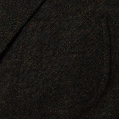 Sartoria Latorre - Sartoria Latorre Yeşil Tweed Astarsız Spor Doğayla Barışık Ceket (1)