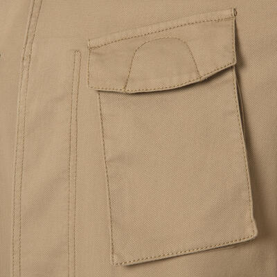 Schneiders - Schneiders Beige Micro weaved Washed Field Jacket (1)