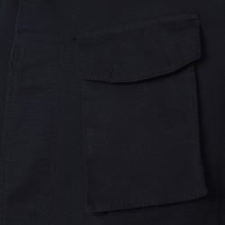 Schneiders - Schneiders Lacivert Mikro Dokulu Yıkamalı Field Ceket (1)