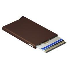 Secrid Cardprotector Brown Cüzdan - Thumbnail