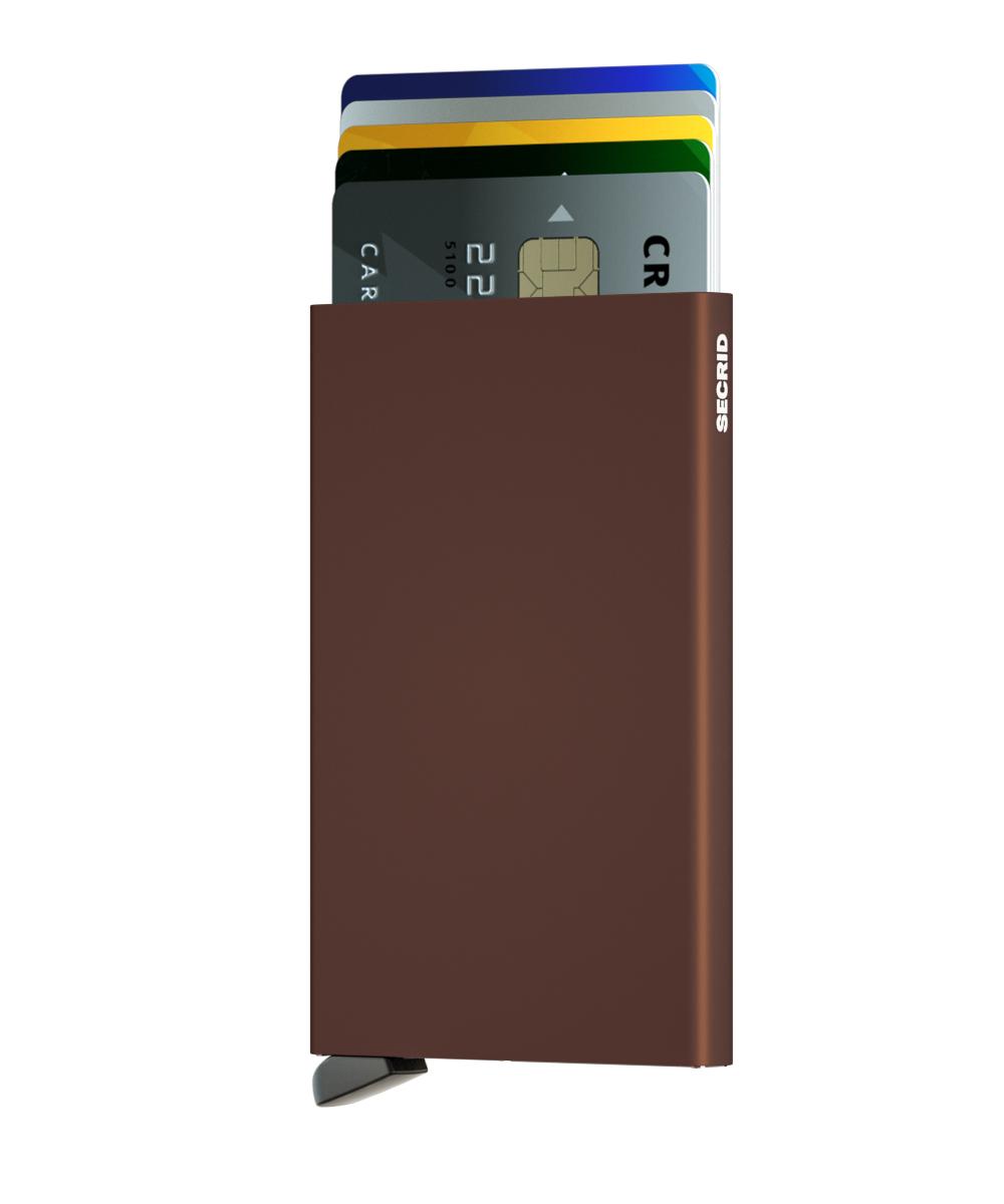 Secrid Cardprotector Brown Cüzdan