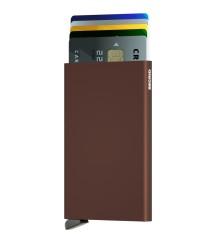 Secrid - Secrid Cardprotector Brown Cüzdan (1)