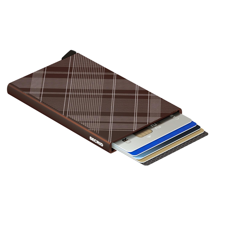 Secrid Cardprotector Laser Brown Wallet