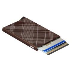 Secrid Cardprotector Laser Brown Wallet - Thumbnail