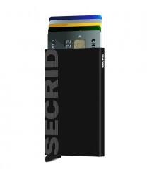 Secrid - Secrid Cardprotector Laser Logo Black Wallet (1)