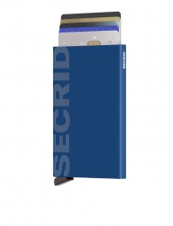 Secrid - Secrid Cardprotector Laser Logo Blue Cüzdan (1)