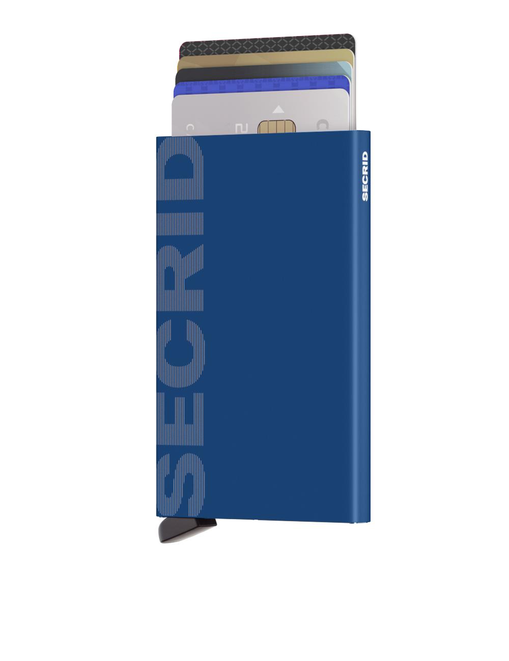 Secrid Cardprotector Laser Logo Blue Wallet