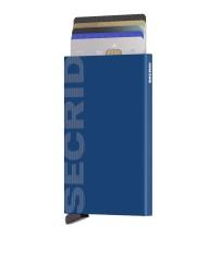 Secrid - Secrid Cardprotector Laser Logo Blue Wallet (1)
