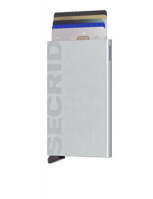 Secrid - Secrid Cardprotector Laser Logo Brushed Silver Cüzdan (1)