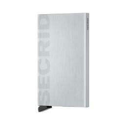 Secrid - Secrid Cardprotector Laser Logo Brushed Silver Cüzdan Wallet