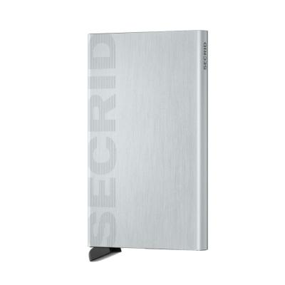 Secrid Cardprotector Laser Logo Brushed Silver Cüzdan Wallet