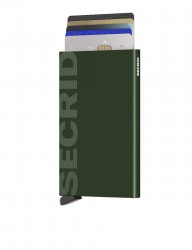Secrid - Secrid Cardprotector Laser Logo Green Wallet (1)
