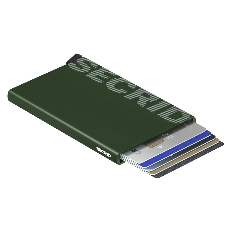 Secrid Cardprotector Laser Logo Green Wallet