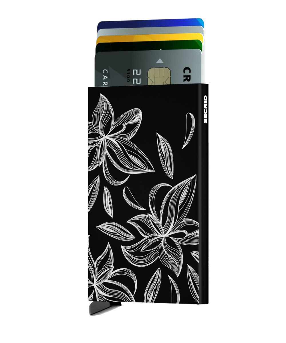 Secrid Cardprotector Laser Magnolia Black Wallet