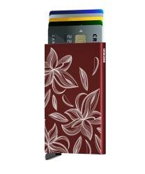 Secrid - Secrid Cardprotector Laser Magnolia Bordeaux Wallet (1)
