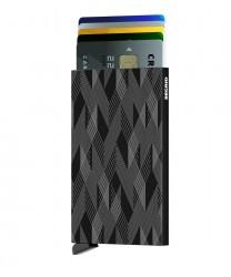 Secrid - Secrid Cardprotector Laser Zigzag Black Cüzdan (1)