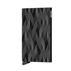 Secrid - Secrid Cardprotector Laser Zigzag Black Wallet