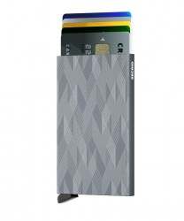 Secrid - Secrid Cardprotector Laser Zigzag Titanium Cüzdan (1)