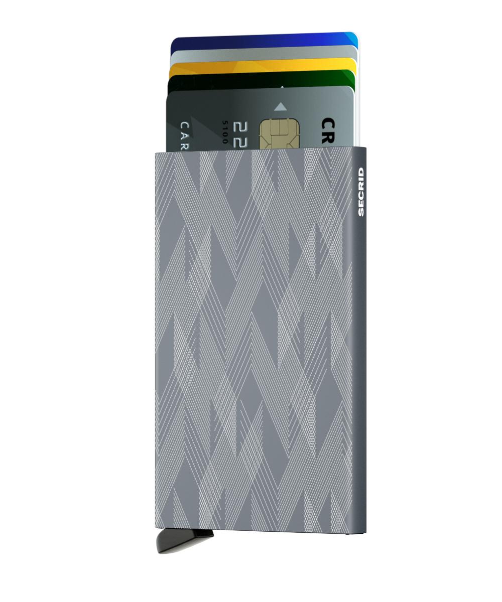 Secrid Cardprotector Laser Zigzag Titanium Wallet