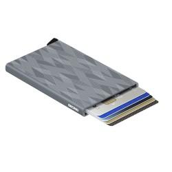 Secrid Cardprotector Laser Zigzag Titanium Wallet - Thumbnail