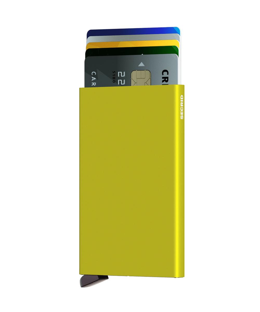 Secrid Cardprotector Lime Cüzdan