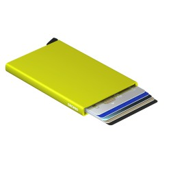 Secrid Cardprotector Lime Cüzdan - Thumbnail