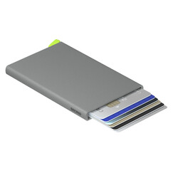 Secrid Cardprotector Powder Concrete Cüzdan - Thumbnail