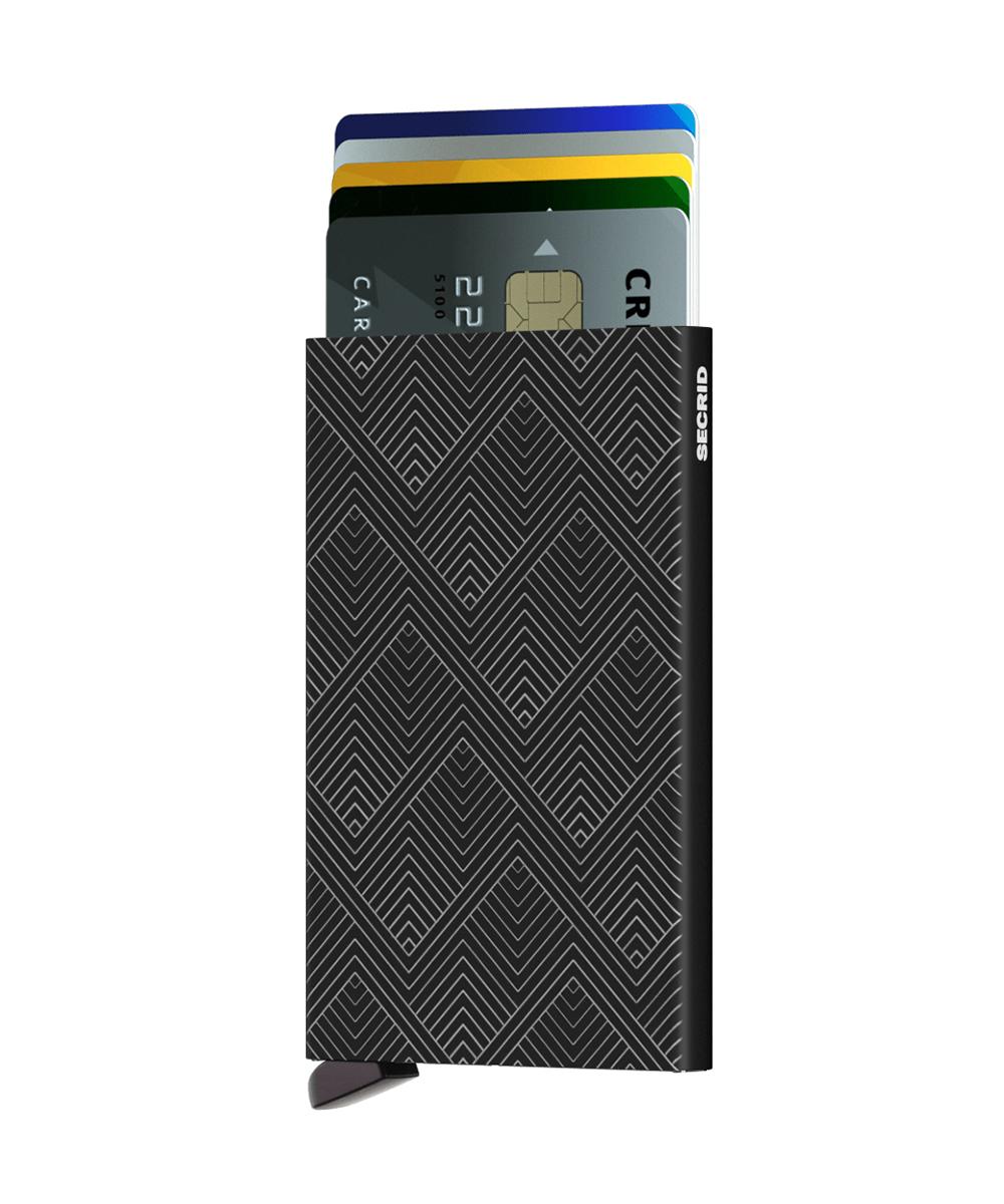 Secrid Cardprotector Structure Black Cüzdan