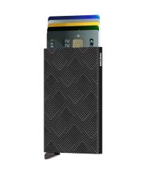 Secrid Cardprotector Structure Black Cüzdan - Thumbnail